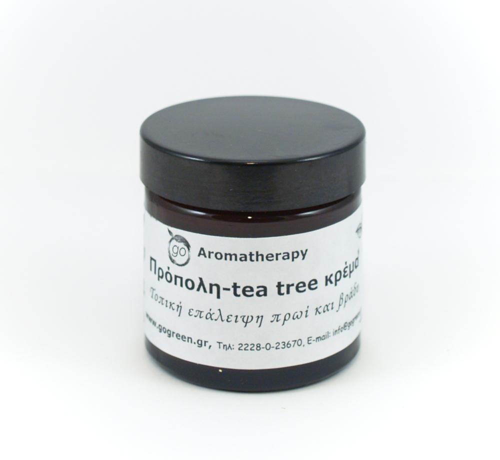 Κρέμα πρόπολης-tea tree